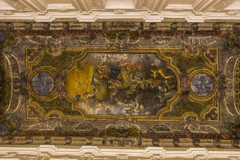 Download Церковь в кампании Сорренто, Италия Madonna Del Кармина Стоковое Фото - изображение насчитывающей naples, церковь: 41654722