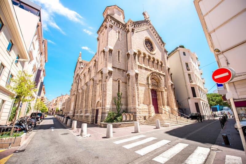 Церковь в Канн стоковые изображения rf