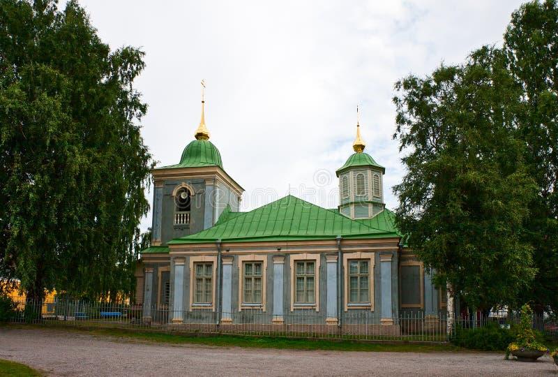 Церковь в крепости Lappeenranta стоковое изображение rf