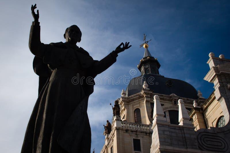 Церковь в Мадриде Испания Испания стоковое изображение rf