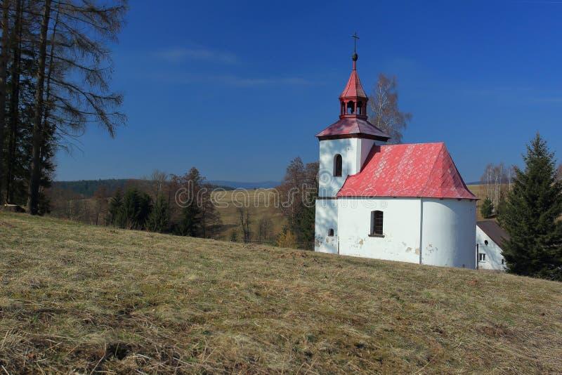 Церковь в поселке Чайак стоковое изображение