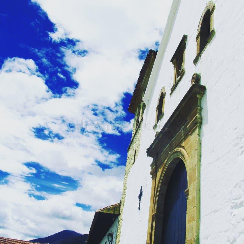 Церковь в рае стоковое фото rf