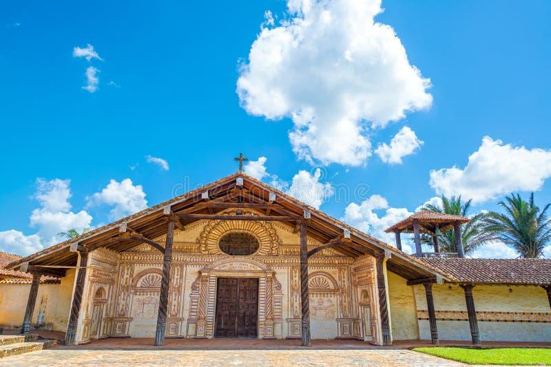 Церковь в Сан Ксавьере, Боливии стоковые фото