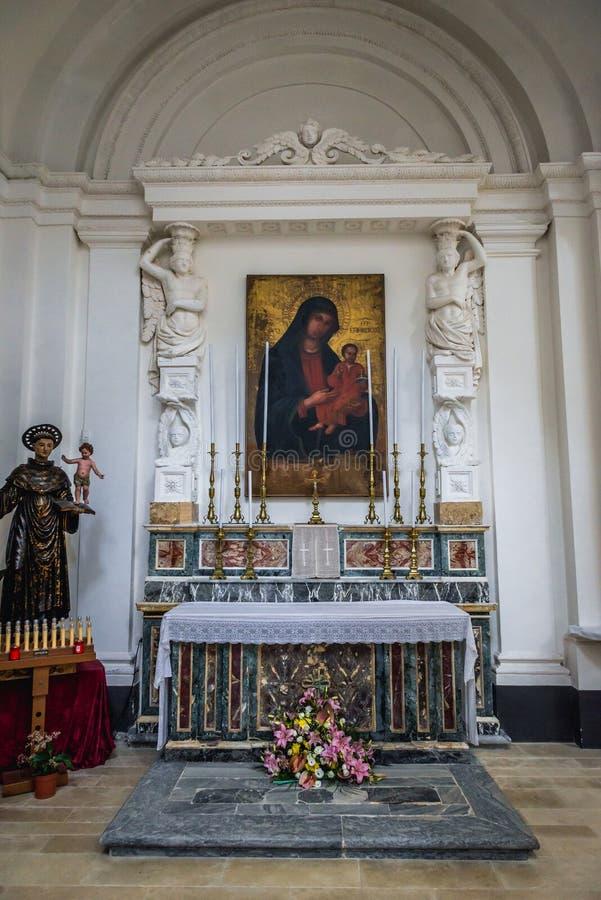 Церковь в Сиракузе стоковая фотография