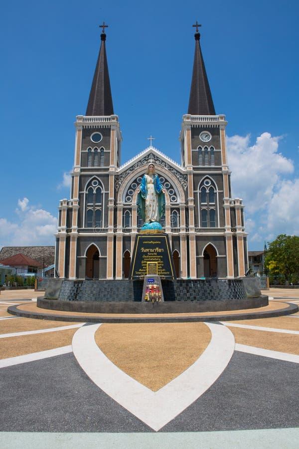 Церковь в Таиланде стоковые фотографии rf