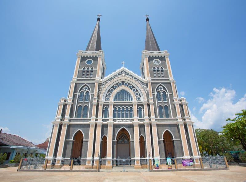 Церковь в Таиланде стоковое изображение
