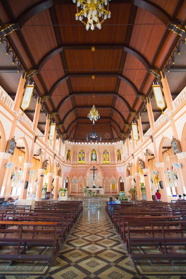 Церковь в Таиланде стоковые изображения