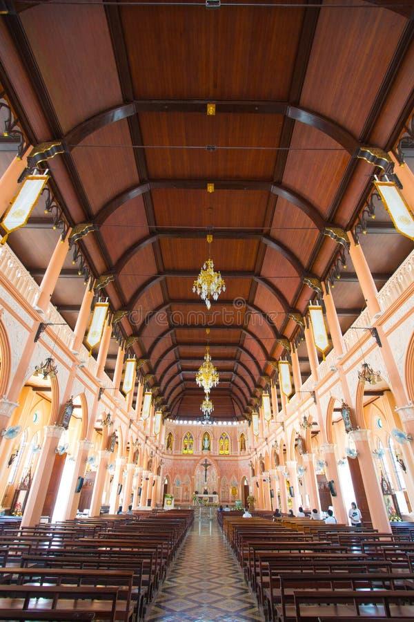 Церковь в Таиланде стоковая фотография