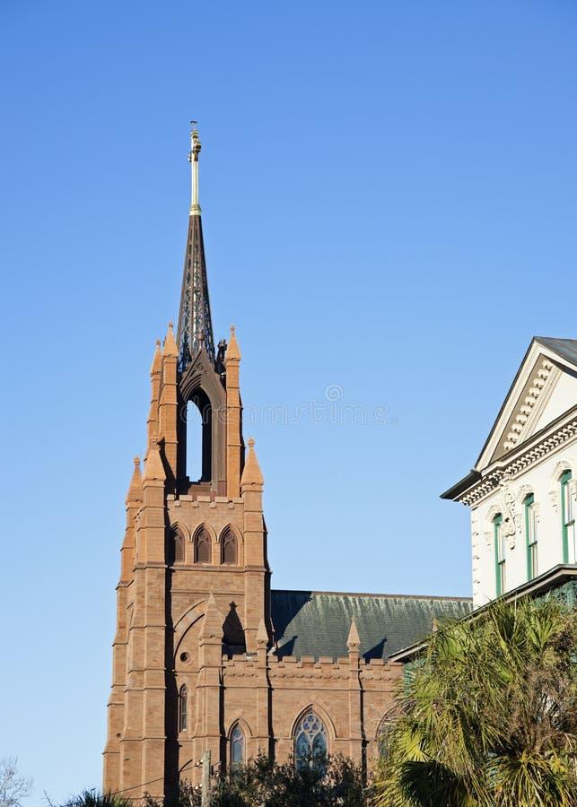 Церковь в Чарльстон стоковое изображение rf