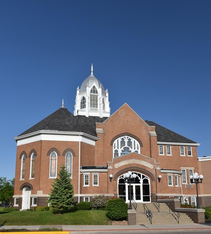 Церковь в Ames стоковое изображение rf