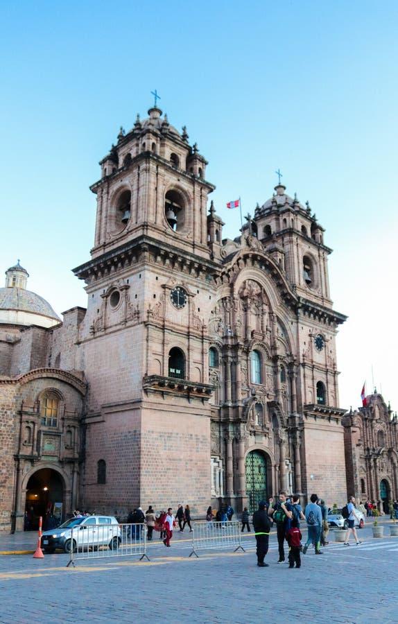 Церковь в Cusco стоковые фотографии rf