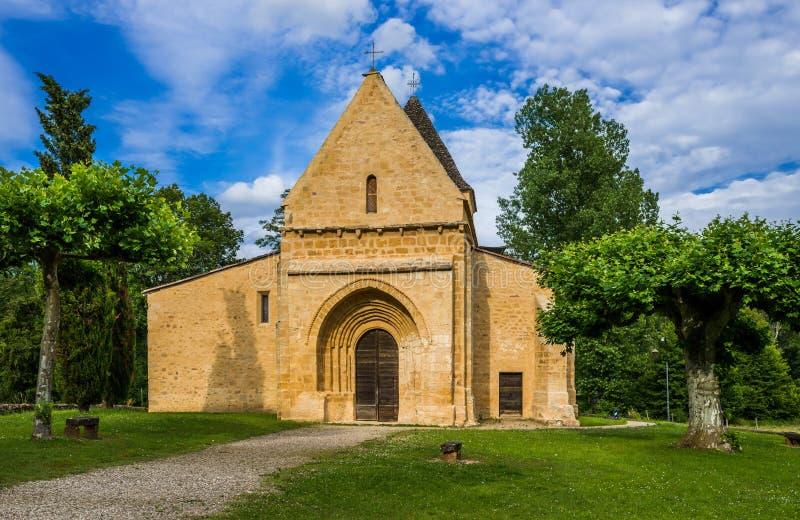 Церковь в dordogne Франции souillac стоковое фото