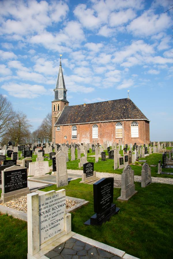Церковь в Echten стоковые фото