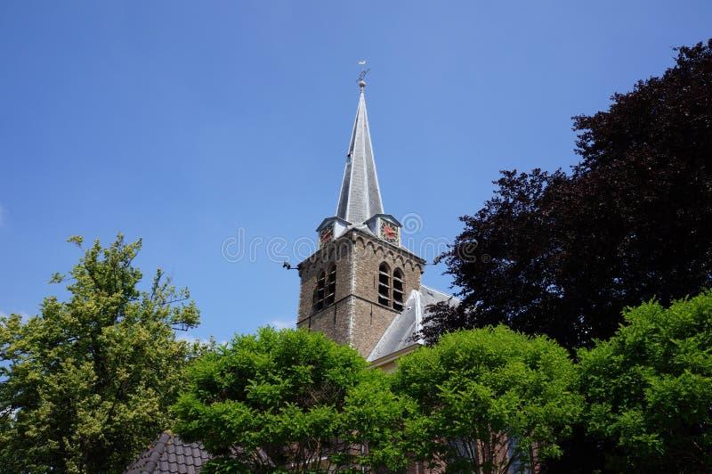 Церковь в en Rodenrijs Berkel, Нидерландах стоковые изображения rf