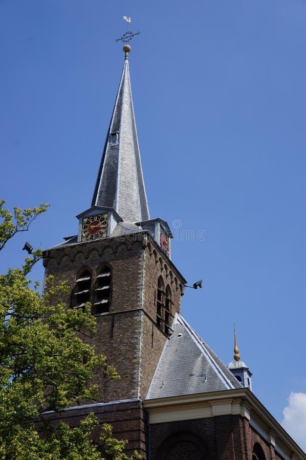 Церковь в en Rodenrijs Berkel, Нидерландах стоковая фотография