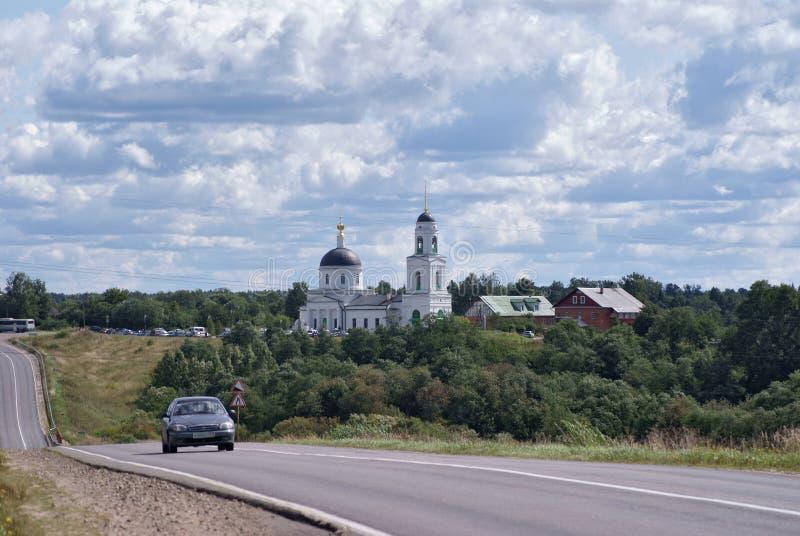 Церковь в Radonezh Россия стоковые фото