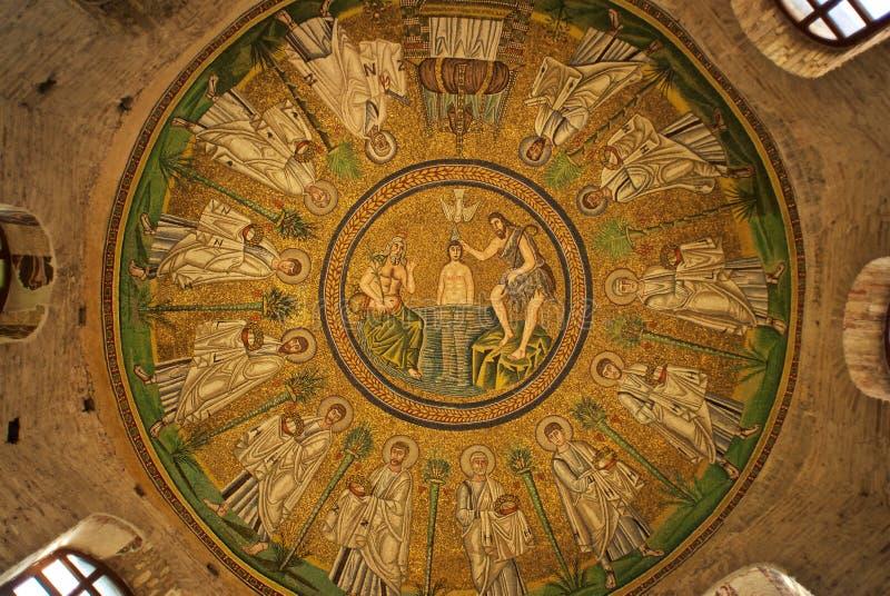 Церковь в Ravenna стоковые изображения rf