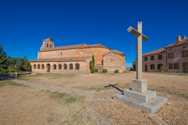 Церковь в Santa Maria de Riaza стоковая фотография rf