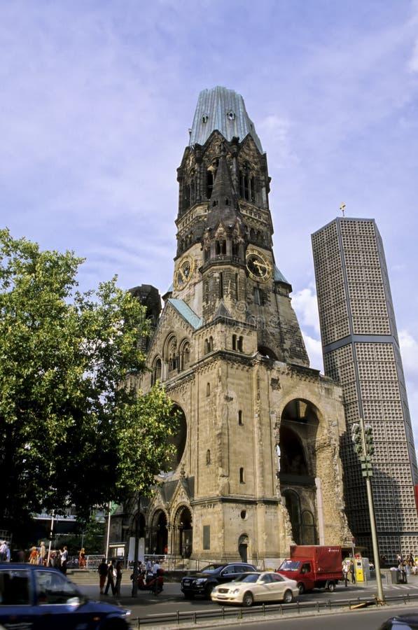 церковь Германия berlin стоковые фотографии rf