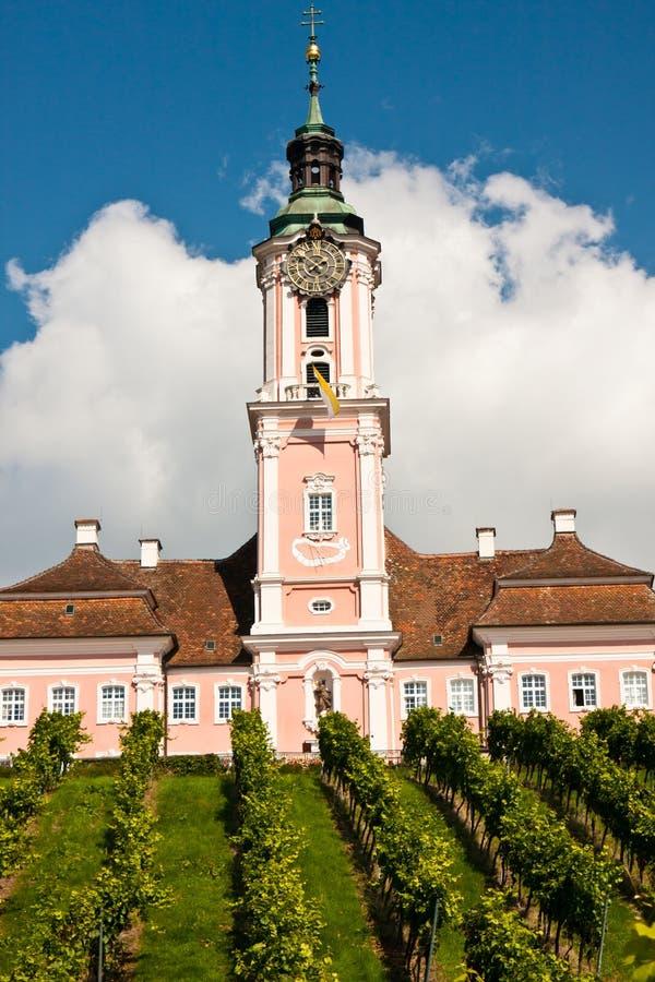 церковь Германия birnau стоковые изображения