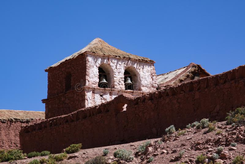 Церковь глины Machuca стоковая фотография