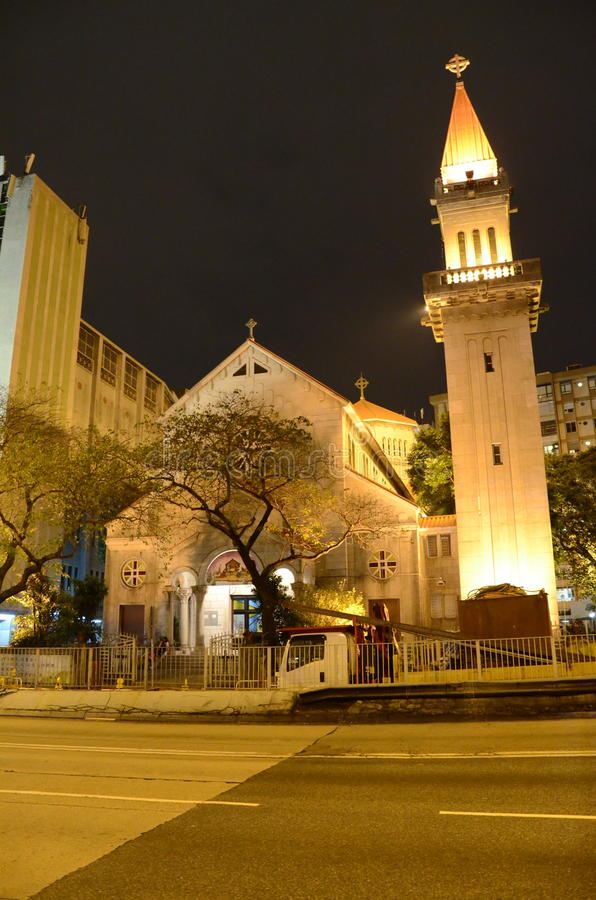 Церковь Гонконг St Teresa стоковое фото