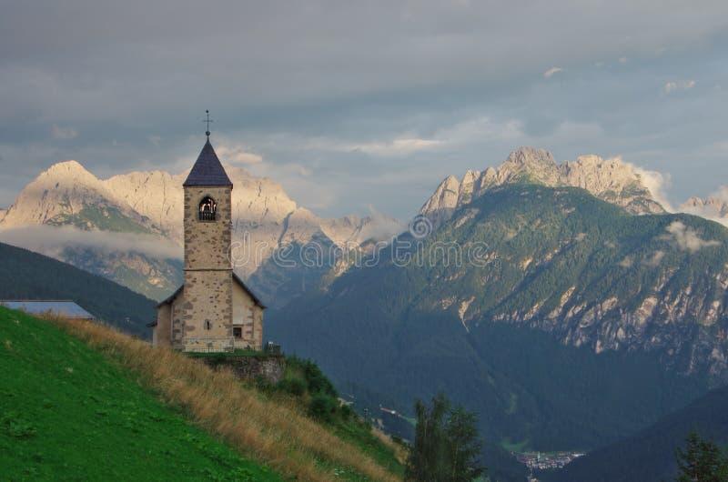 Церковь горы стоковое фото