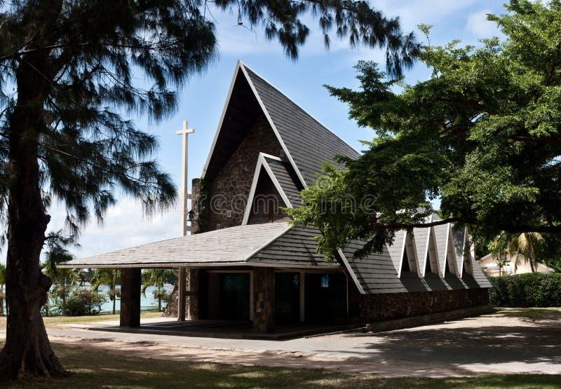 церковь грандиозный Маврикий baie стоковые изображения