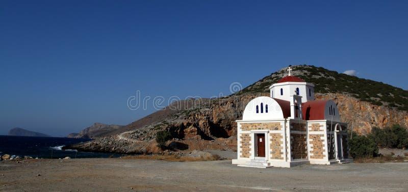 церковь Греция правоверная стоковая фотография