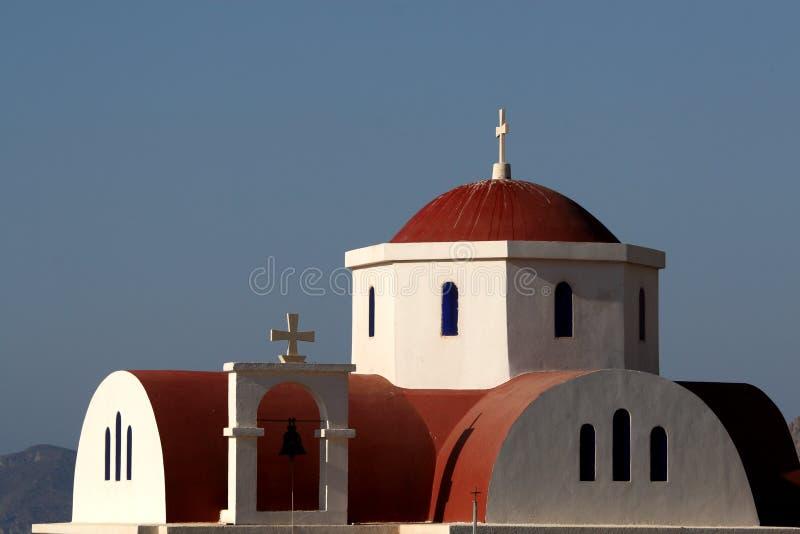 церковь Греция правоверная стоковое изображение