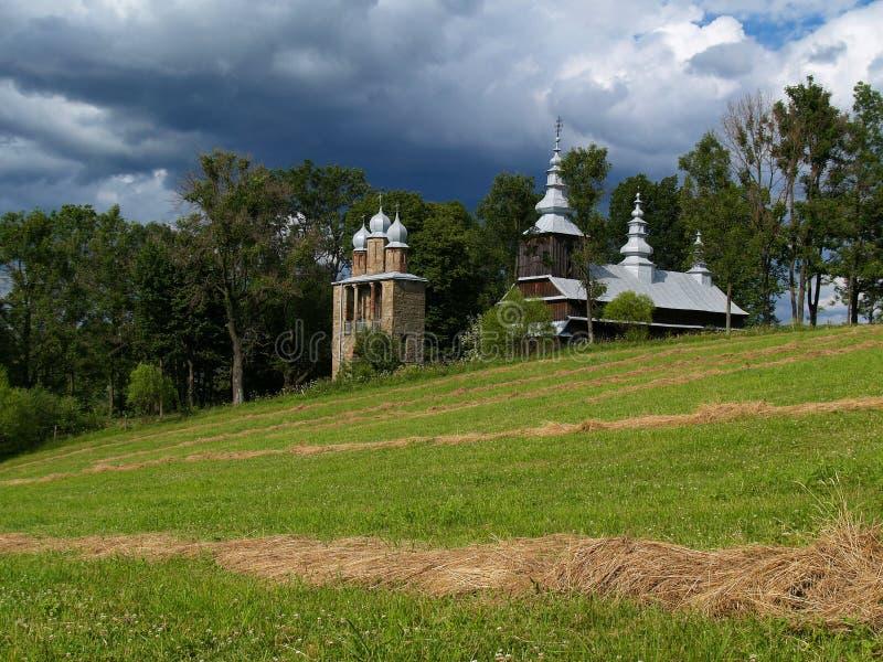 церковь деревянная стоковые фото