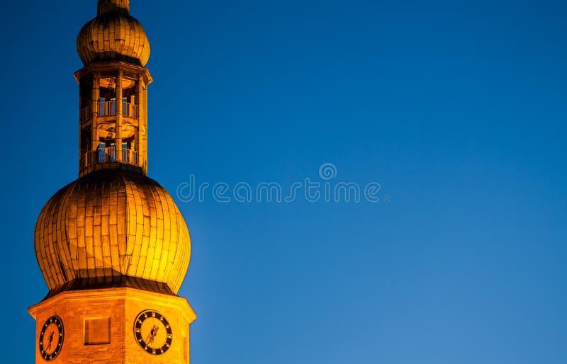 Церковь Дортмунд Германия Reinoldi стоковые фотографии rf