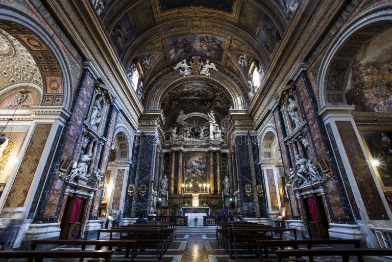 Церковь, Иисус и Mary ¹ e Марии Gesà Италия rome стоковые изображения rf