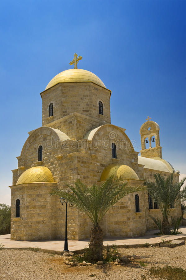 церковь Иордан правоверный стоковая фотография