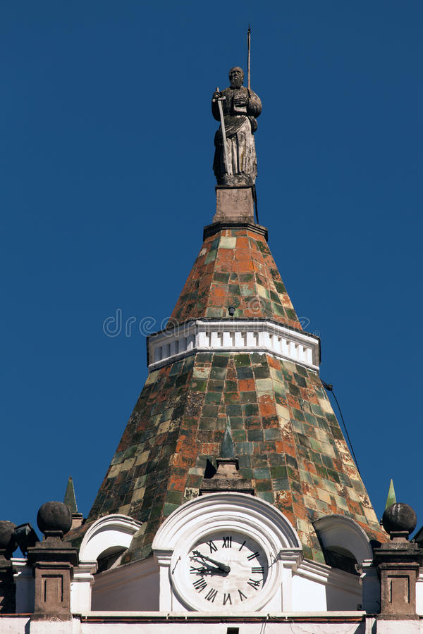 Церковь и монастырь Св.а Франциск Св. Франциск в Кито стоковая фотография rf