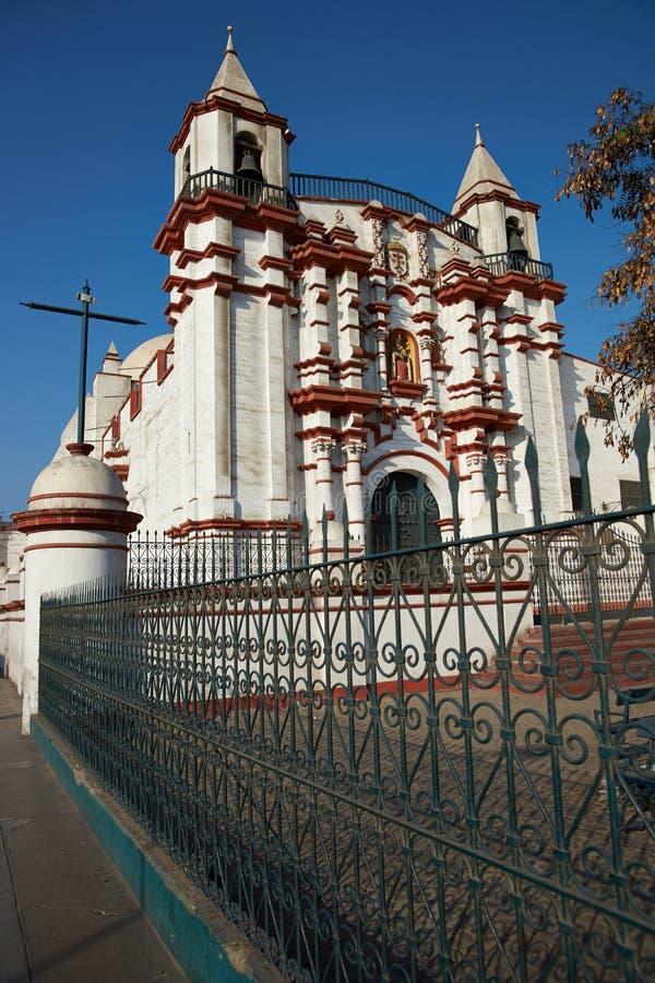Церковь и монастырь El Кармен стоковые изображения