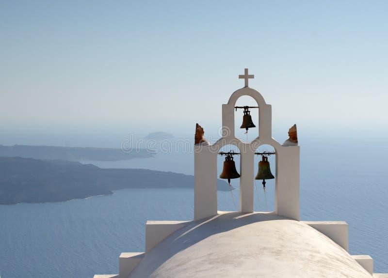 церковь колоколов правоверная стоковое фото