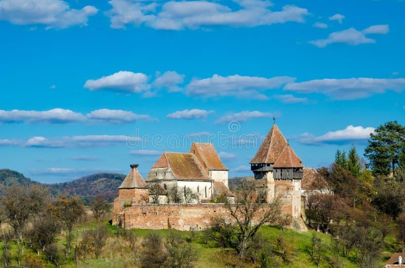 Церковь-крепость Альмы VII стоковая фотография