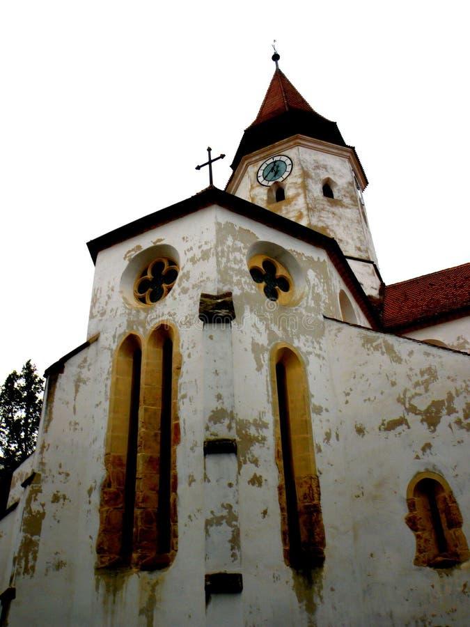 Церковь-крепость Honigberg (Harman), Saxon, Румыния стоковая фотография rf
