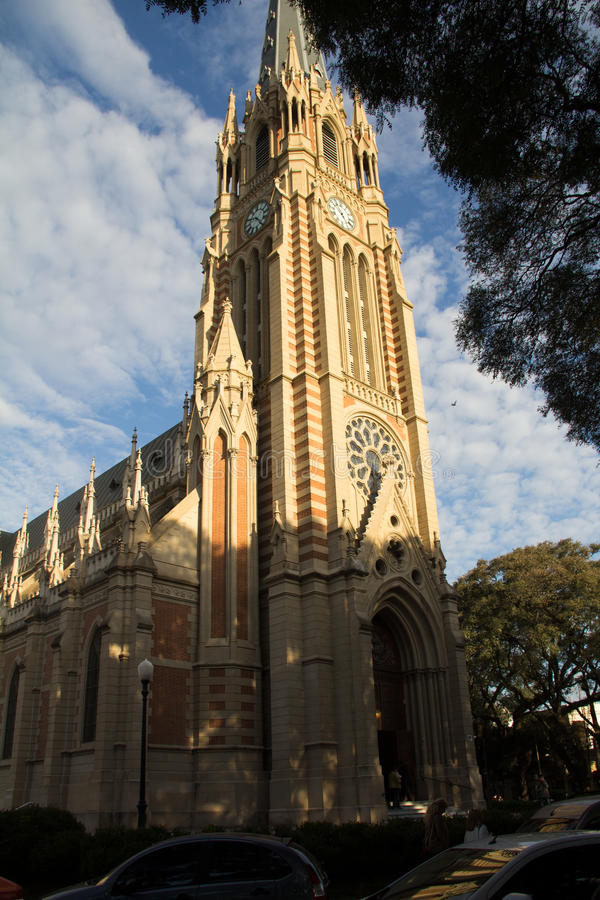 церковь классическая стоковые изображения