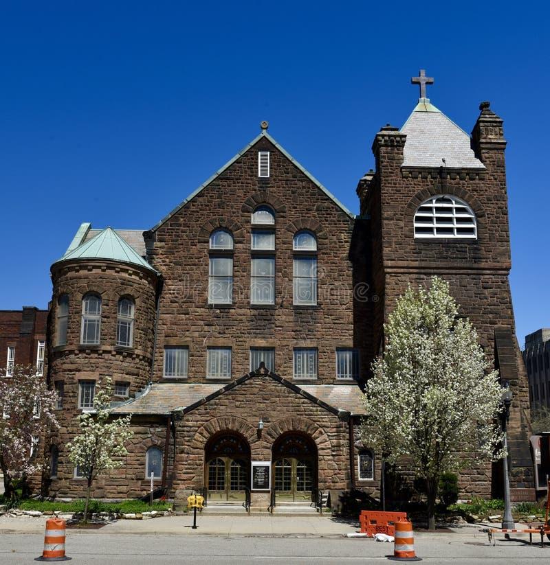Церковь Лансинга стоковая фотография rf