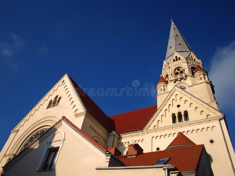 Церковь Лодз 4 стоковое фото