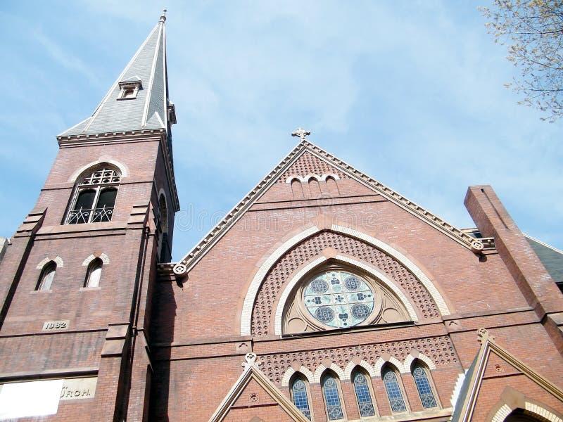 Церковь 2010 места Вашингтона Luther мемориальная стоковая фотография rf