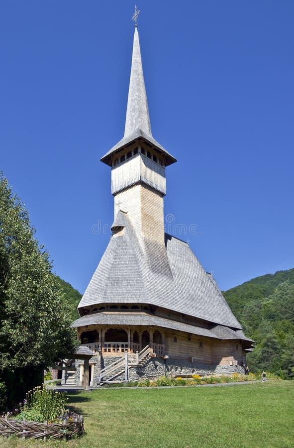 Церковь монастыря Barsana стоковые изображения
