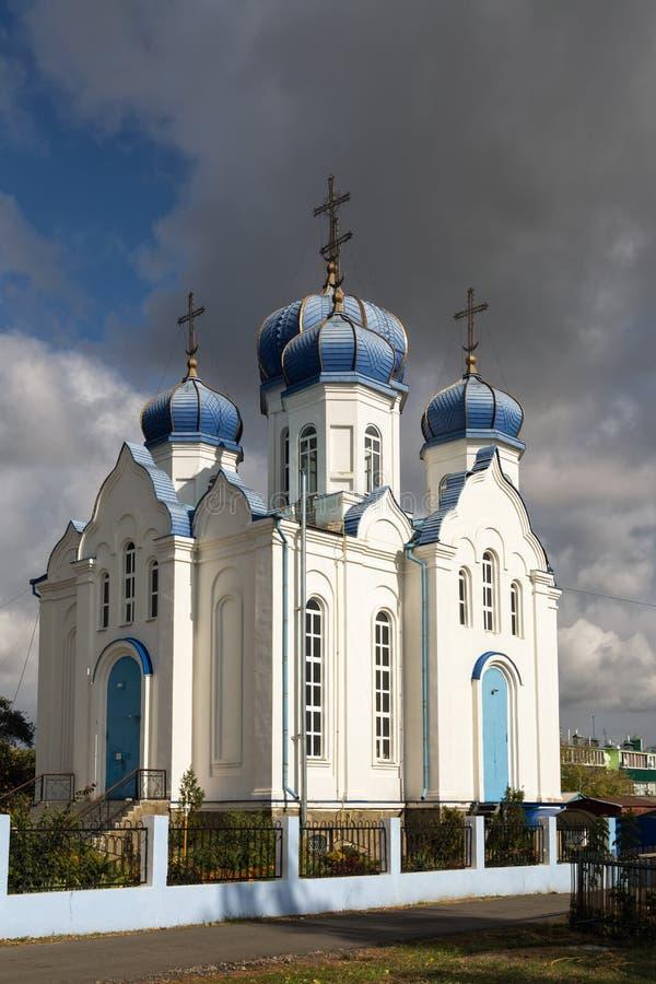 Церковь наша дама Казани Panino Россия стоковое изображение