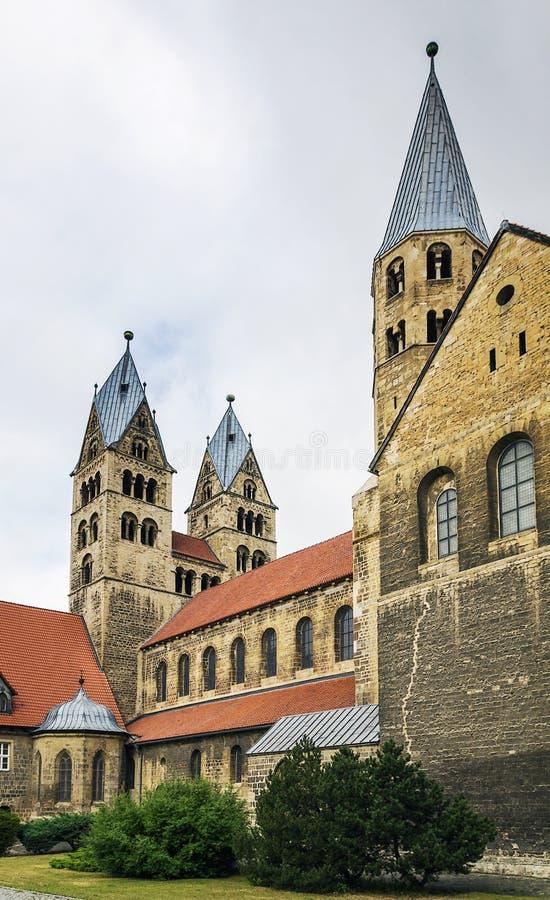 Церковь нашей дамы в Halberstadt, Германии стоковое фото