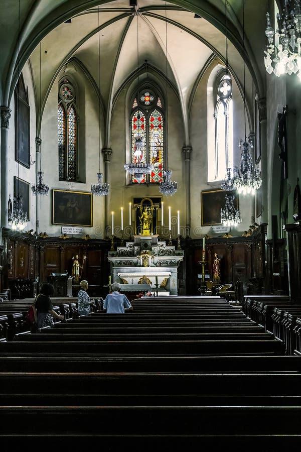 Церковь нашей дамы надежды в Канн стоковая фотография rf