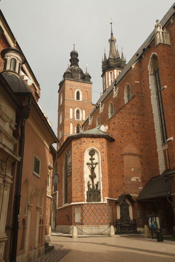 Церковь нашей дамы Assumed в зад ½ ¿ Heavenï (церков St Mary) стоковая фотография rf