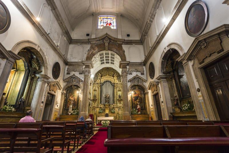 Церковь нашей дамы победы стоковые изображения rf