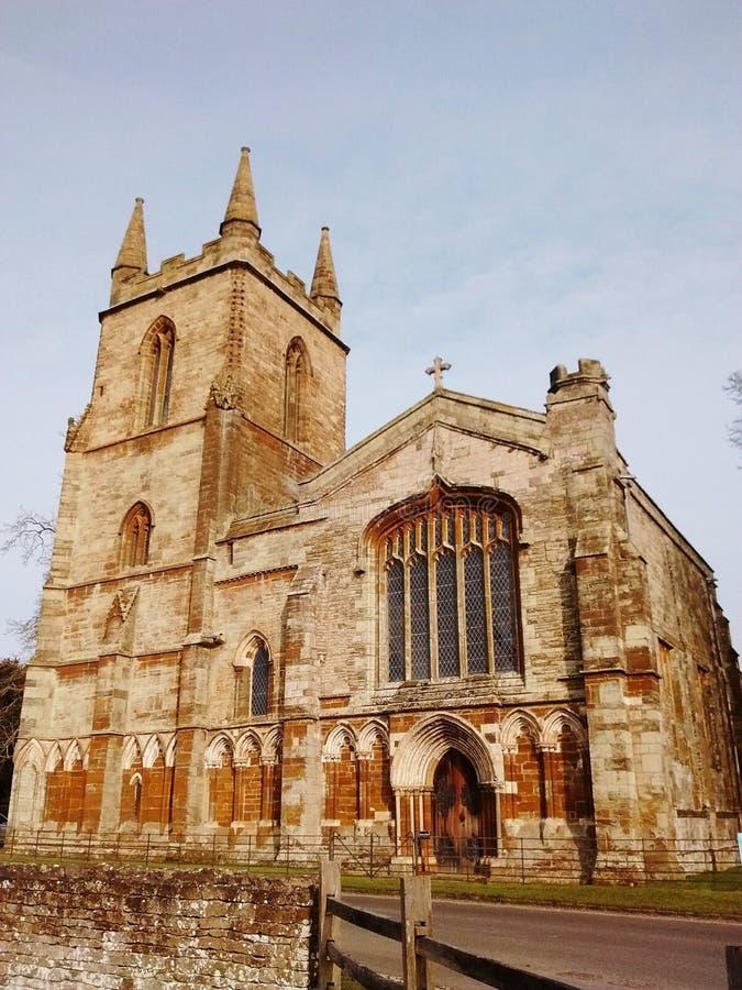 Церковь на канонах ashby стоковые изображения